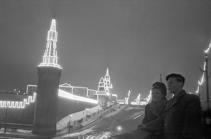 Вид на Кремль, 1947 год