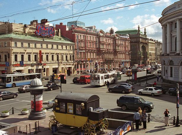Невский проспект,2005 год