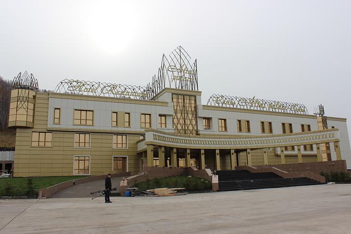 """Строительство игорной зоны """"Сибирская монета"""""""