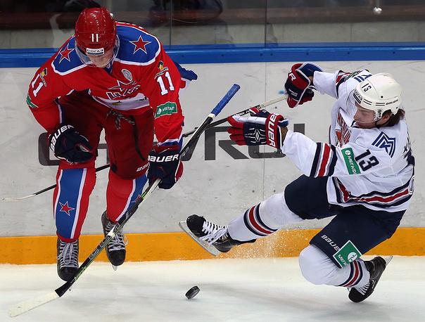 Сергей Андронов (слева) против Владислава Калетника