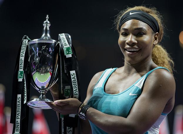 Американка Серена Уильямс выиграла итоговый турнир WTA