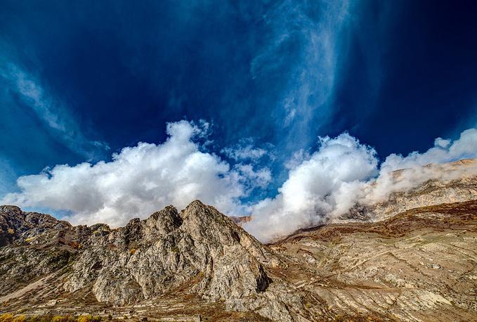 Абсолютные высоты в Черекском районе превышают отметки в 3000 метров
