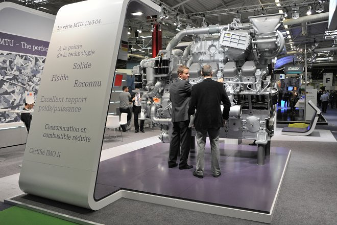 Компания MTU Friedrichshafen - один из ведущих мировых производителей дизельных двигателей для применения в судостроении, железнодорожном транспорте, малой энергетике, строительной и промышленной технике