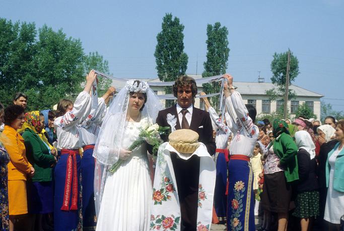 Свадьба в Краснодарском крае, 1981 год