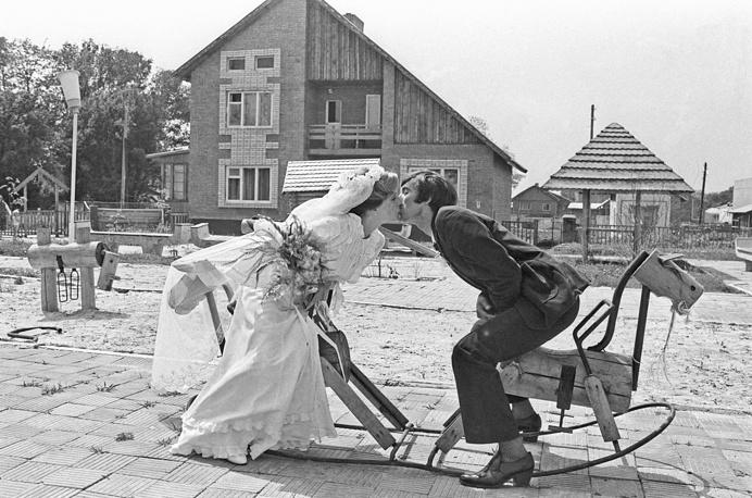 Свадьба в Ростовской области, 1983 год