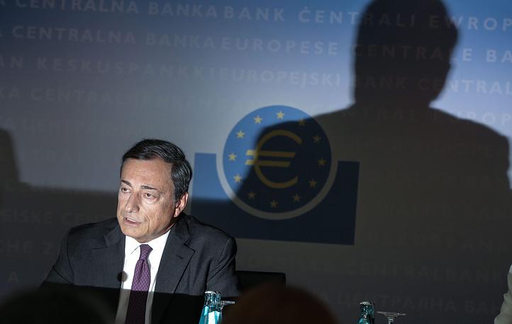 8. Председатель Европейского центрального банка Марио Драги