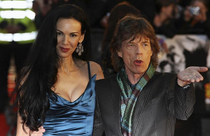 Мик Джаггер и Лорен Скотт, 2008 год