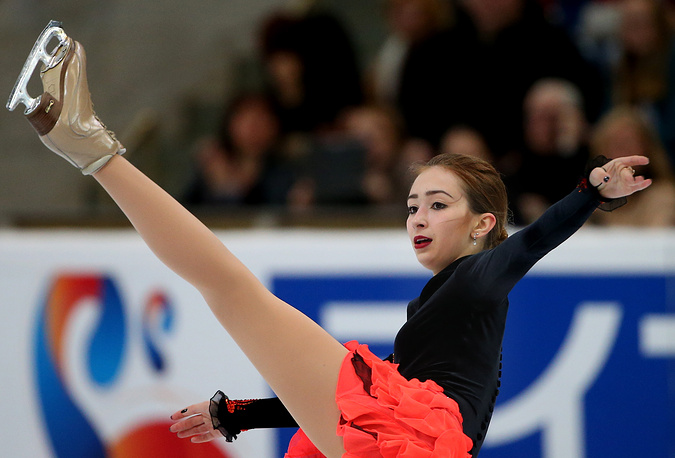Россиянка Мария Ставицкая, которая также дебютировала в серии Гран-при, стала 7-й.