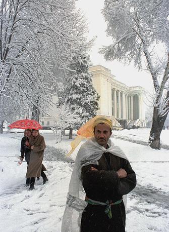 Душанбе, январь 1999 года