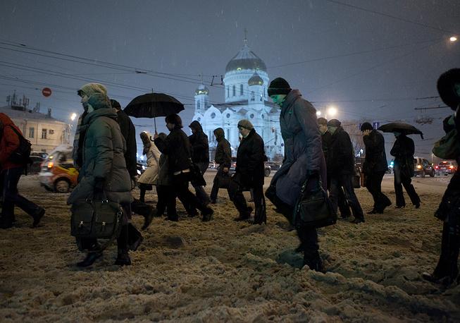 Москва, ноябрь 2012 года