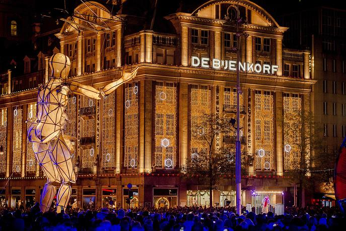 Рождественская ярмарка в Амстердаме, 21 ноября