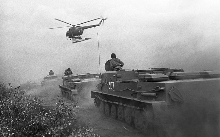 Совместные учения армий стран - участниц Варшавского договора, 1969 год
