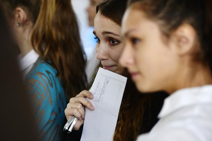 Участие в написании сочинения впервые приняли школьники Крыма