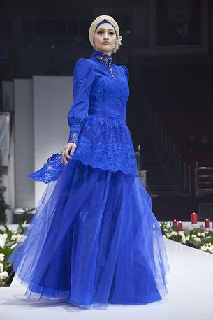 Участница Grozny Fashion Week