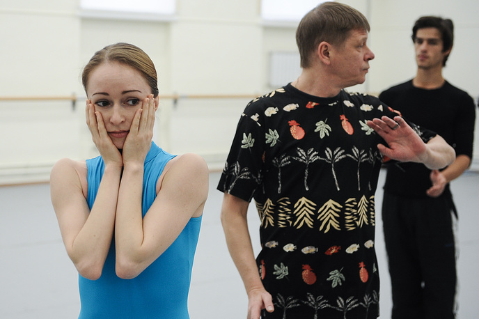 Солистка Екатеринбургского театра оперы и балета Елена Воробьева и хореограф Мариинского театра Сергей Вихарев