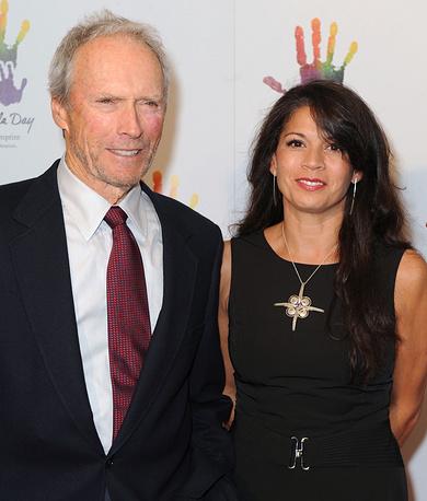 Клинт Иствуд и Дина Иствуд, 2009 год