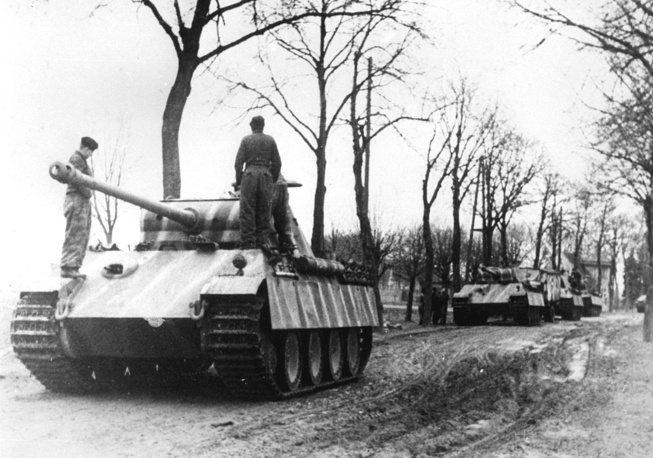 """Пантеры"" вермахта, 1945 год"