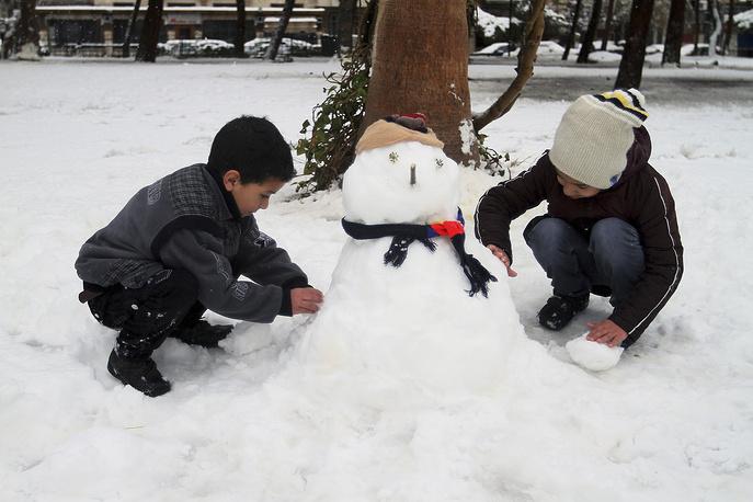 Дамаск, Сирия, 7 января