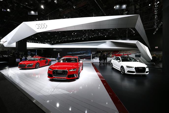 Стенд Audi