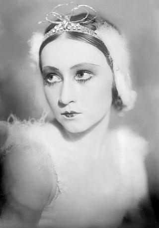 Галина Уланова (Одетта) , 1934 год