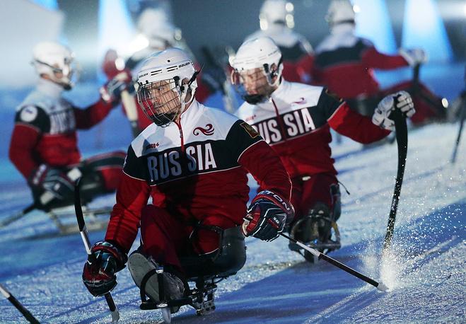 Следж-хоккейная команда