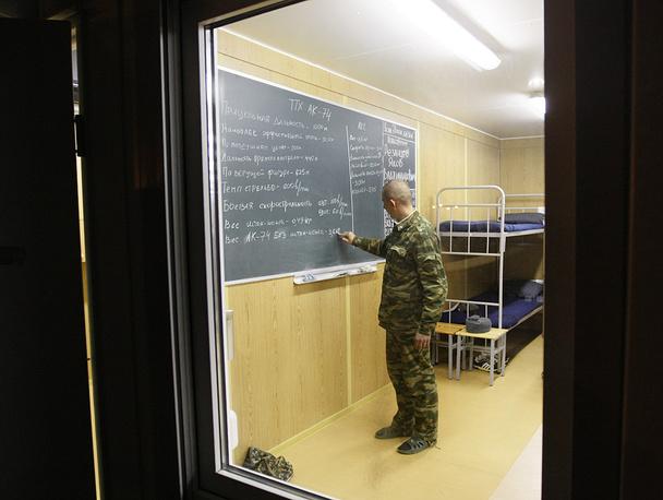 Абхазия. Гудаута. Казарма 7-й военной базы ВС России.