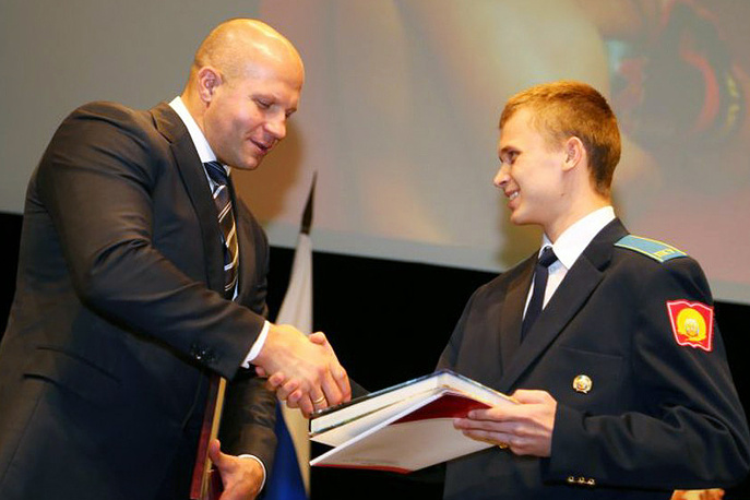Федор Емельяненко в Оренбургском президентском кадетском училище