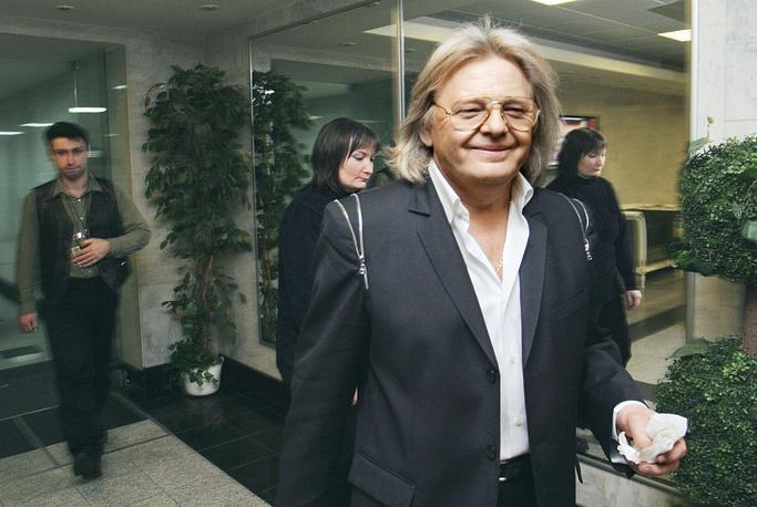 После концерта в Государственном Кремлевском Дворце, 2005 год