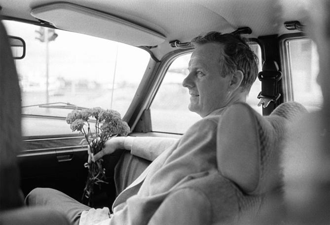 Профессор Ленинградского университета, народный депутат СССР, председатель Ленсовета Анатолий Собчак, 1990 год