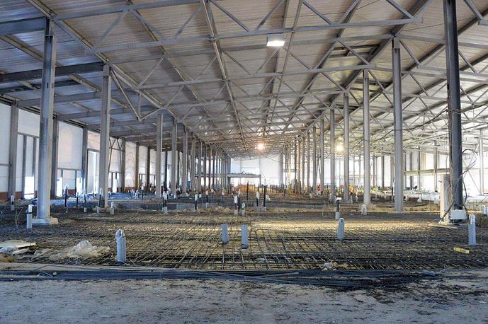 Строительство мясоперерабатывающего завода в Богдановичском районе Свердловской области