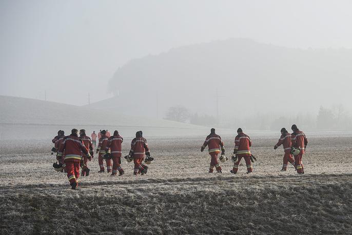 Полиция кантона Цюрих сообщила, что ранения получили пять человек