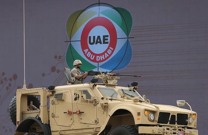 Американский бронеавтомобиль с усиленной противоминной защитой M-ATV (MRAP-All Terrain Vehicle)
