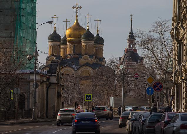 Знаменский монастырь на улице Варварке