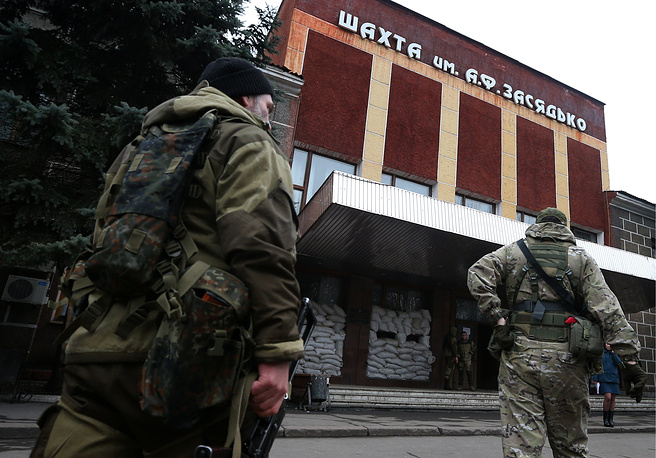 В Донбассе на шахте им. Засядько произошел взрыв. Причиной ЧП, предположительно, стал взрыв газовоздушной смеси