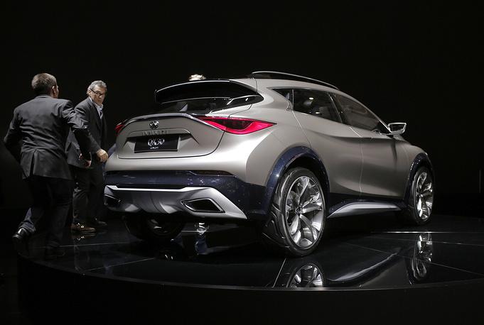 Infiniti представила кросс-купе QX30