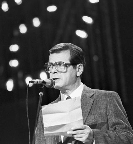 Писатель-сатирик Аркадий Арканов, 1986 год