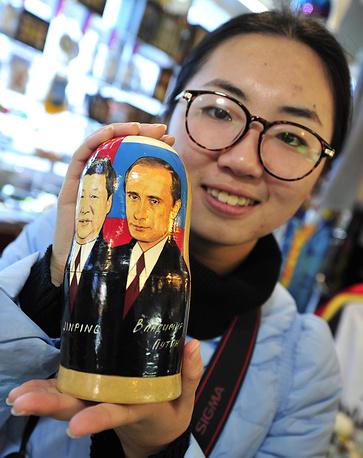 В одном из сувенирных магазинов Владивостока