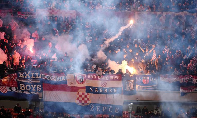 В отборе к Евро-2016 имел место еще один инцидент с участием балканских фанатов, который все-таки был доигран. Матч между сборными Италии и Хорватии прерывался из-за беспорядков на гостевой трибуне. Игра возобновилась через десять минут и завершилась со счетом 1:1. Итальянская федерация футбола оштрафована на €13 тыс., Хорватский футбольный союз - на €80 тыс.