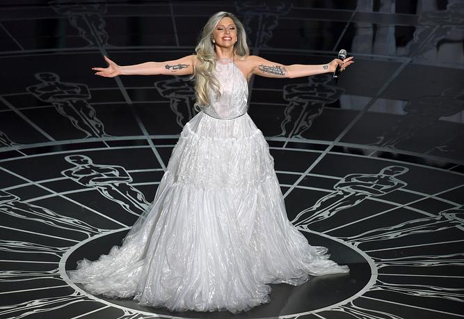 3 место. Певица Леди Гага - 2,6%