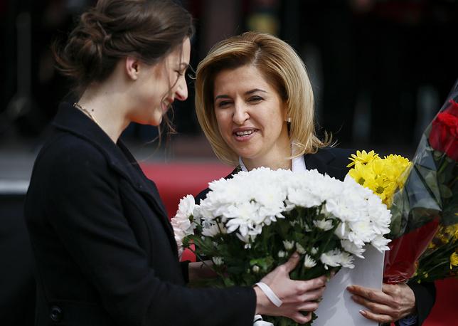 Ирина Влах (справа) с дочерью Анной