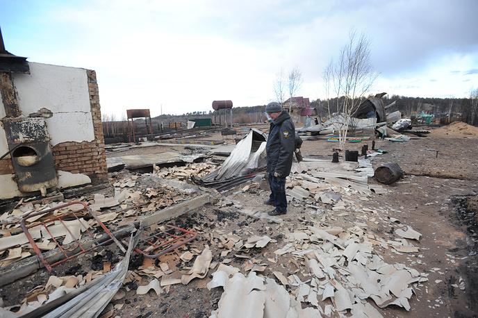 Из-за природных пожаров в регионе возбудили 25 уголовных дел