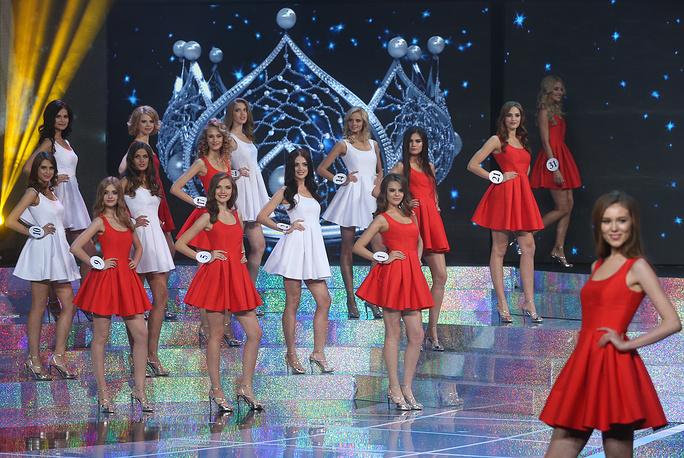 """Участницы финала конкурса """"Мисс Россия-2015"""""""