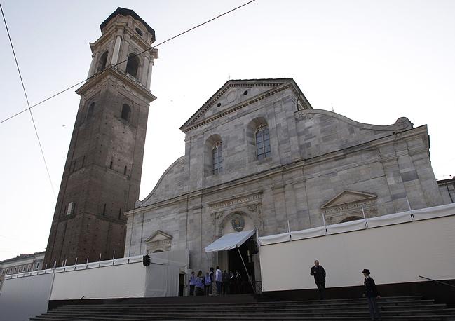 Католическом храме Пьемонта, где находится Туринская плащаница