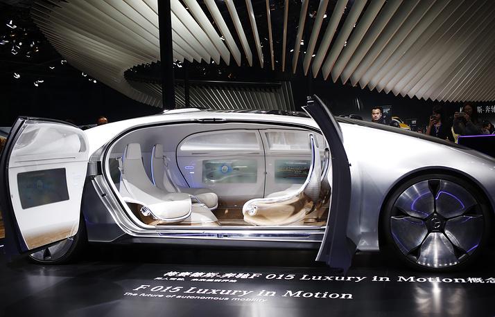 Концепт-кар Mercedes-Benz F 015 Luxury in Motion