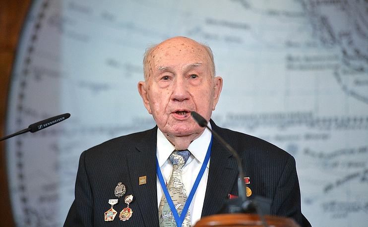 Почётный член Русского географического общества Георгий Лаппо