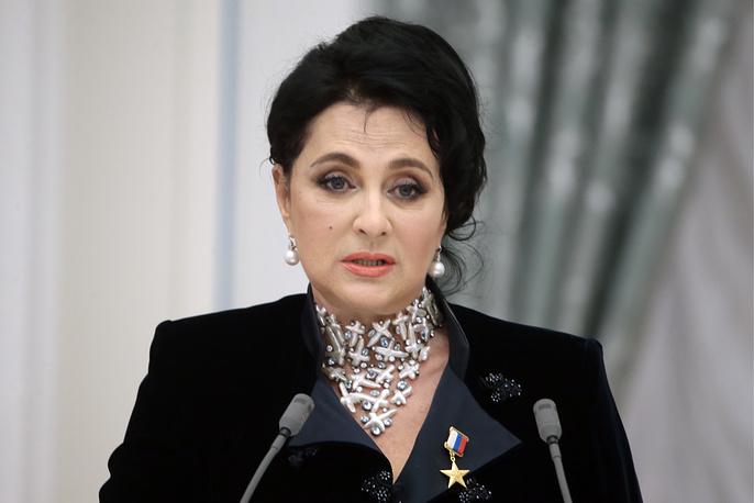 Глава Всероссийской федерации по художественной гимнастике Ирина Винер-Усманова