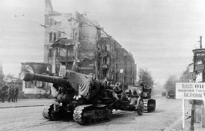 К утру 2 мая остатки Берлинского гарнизона были расчленены на отдельные изолированные группы