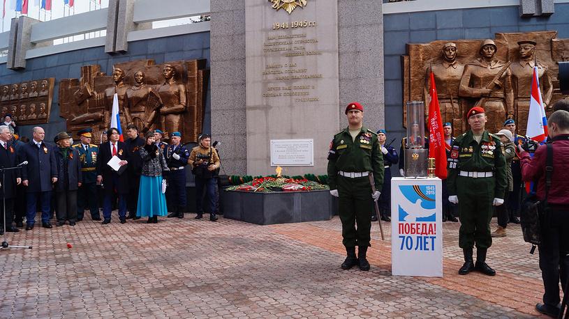 Мемориале Победы в Улан-Удэ