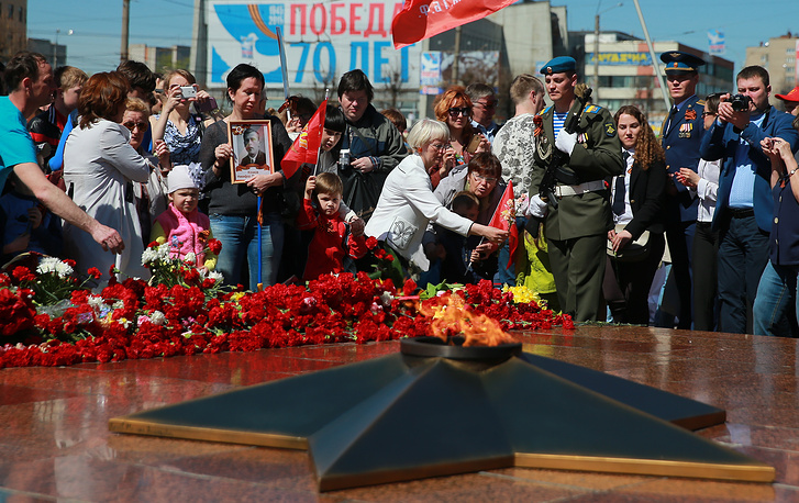 Празднование Дня Победы в Иваново