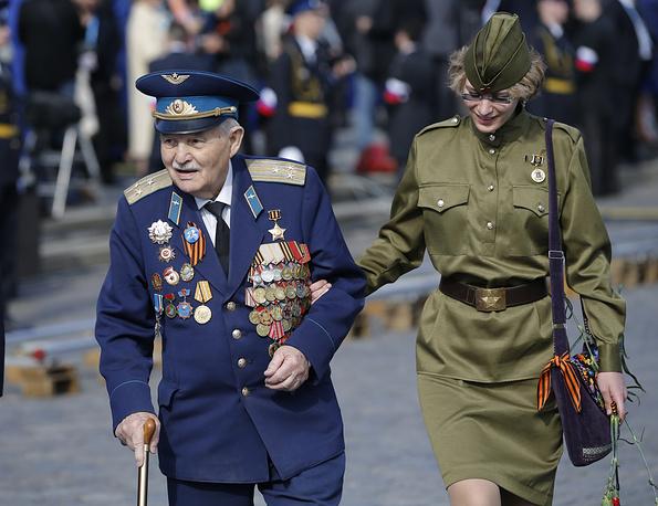 Ветераны Великой Отечественной войны в Москве